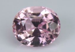 Pink Tourmaline, 3.06 Ct