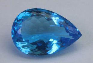 Blue Topaz 10.84 Ct
