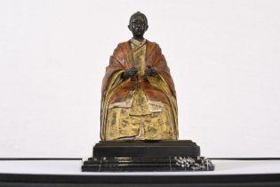 Fine Hand Cast King Sculpture