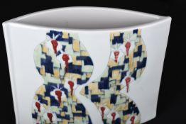 Rare Original Handmade Porcelain Art Vase