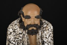 "Large 24"""" Original Handmade Shiwan Figure"