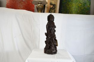 Large Very Fine Wood carving