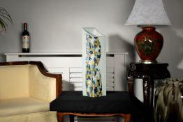 Stunning Original Hand Painted Jing Art Vase