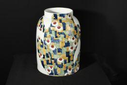 Hand Painted Jing Porcelain Art Vase