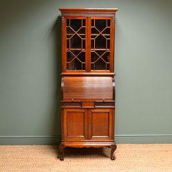 Fine Art, Antique Furniture & Interiors I Featuring a Regency Bracket Clock, Circa 1820.