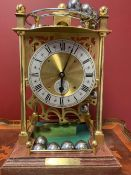 Harding and Bazeley limited edition Spherical weight rolling ball gravity clock