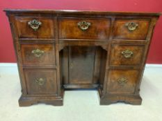 Kneehole desk, circa 1720