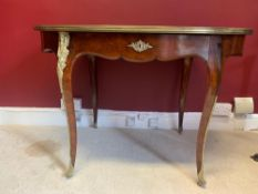 Gillows, Late 19th Century Mahogany Writing Table, Signed Gillows