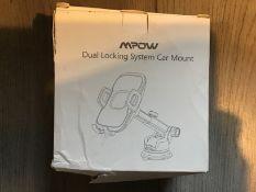 Mpow Dual Locking System Car Mount
