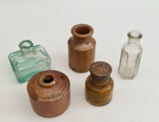 Antique 5 Assorted Collectable Bottles