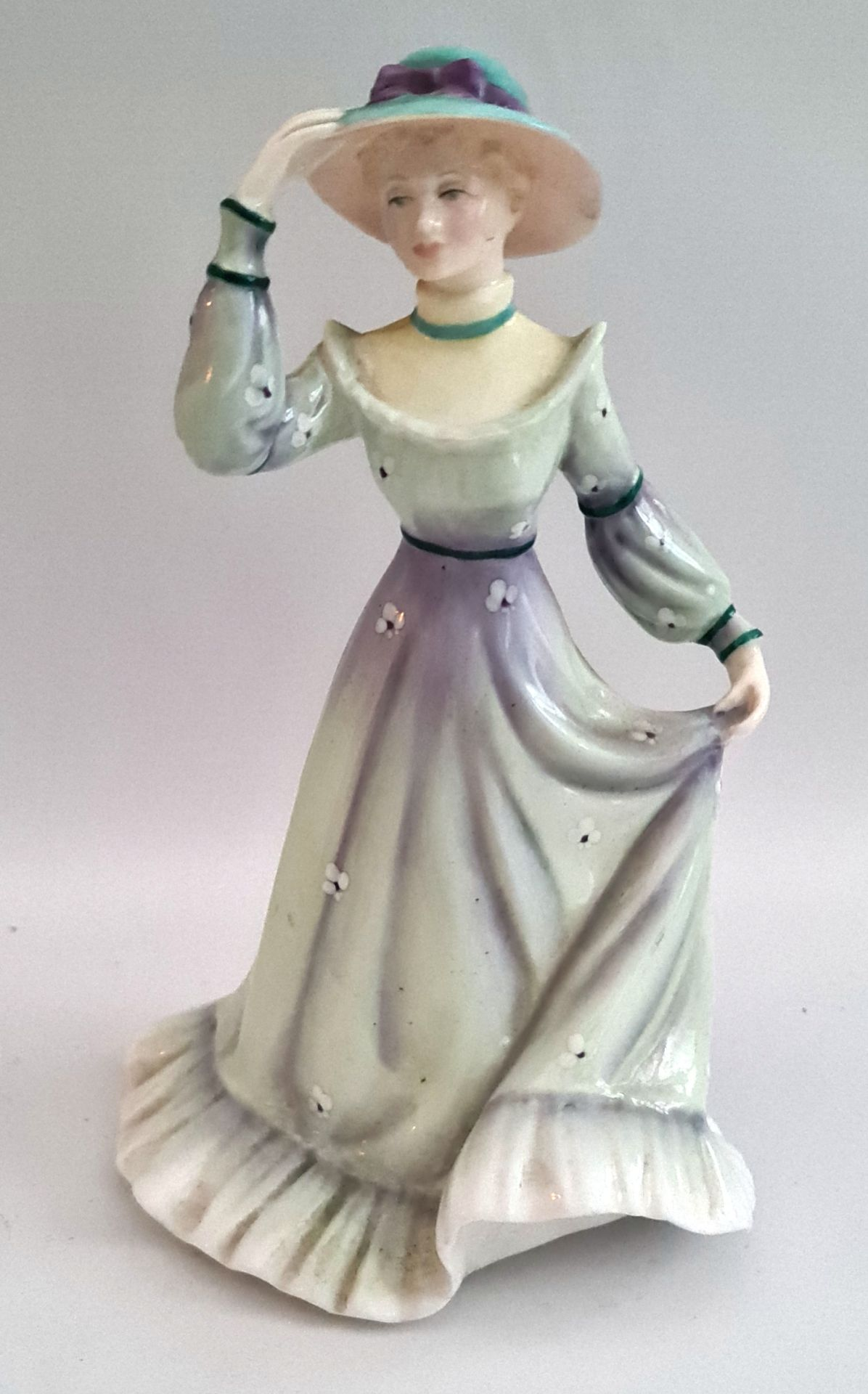 Vintage Francesca Art China Figure Titled Jessica