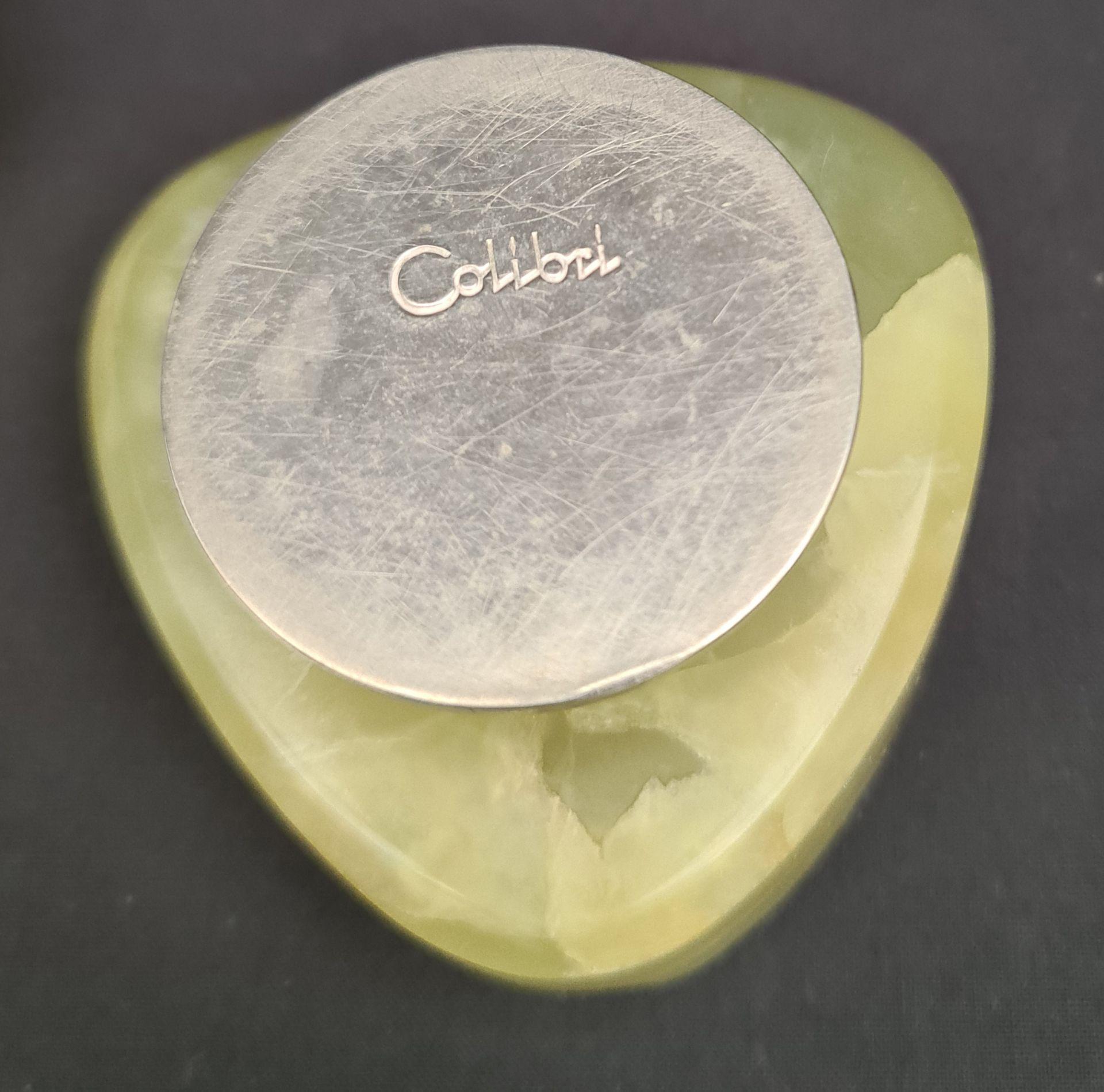 Retro Onyx Calibri Astray & Carved Onyx Turtle - Image 2 of 2