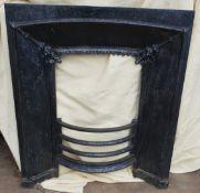 Antique Victorian Cast Iron Fire Surround