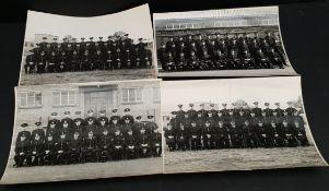 Vintage 4 x Police Photographs Ryton on Dunsmore Classes 1940's
