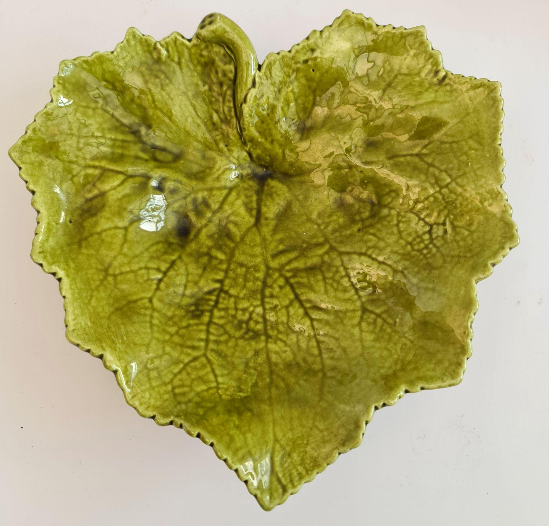 Antique Bretby Vine leaf Pottery Mailing & Minton