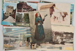 Vintage 50 assorted Postcards