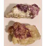 Collectable Fluorescent Minerals Sodalite Hackmanite York River Bancroft