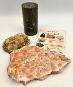 8 Assorted Geological Rock & Crystal Samples