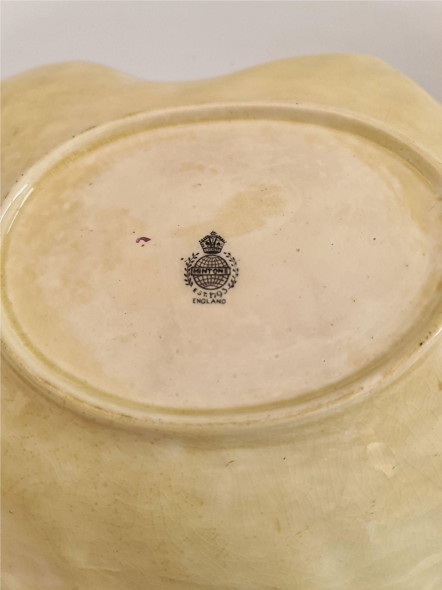 Antique Bretby Vine leaf Pottery Mailing & Minton - Image 5 of 5