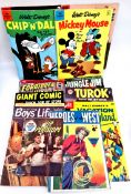 Vintage 14 Assorted Comics All But Two are c1950's