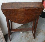 Antique Small Edwardian Gate Leg Table