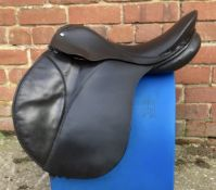 "17"" Wide Kent Equestrian Supplies Cob GP Saddle - Black"