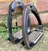 Acavallo Arena Safety Stirrups with Cheesegrater Tread