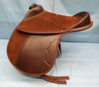 Brown saddle by Equipride
