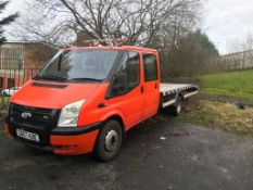 2007 Ford TRANSIT mk7 crow cab 6 seats Recovery truck 17 feet long body