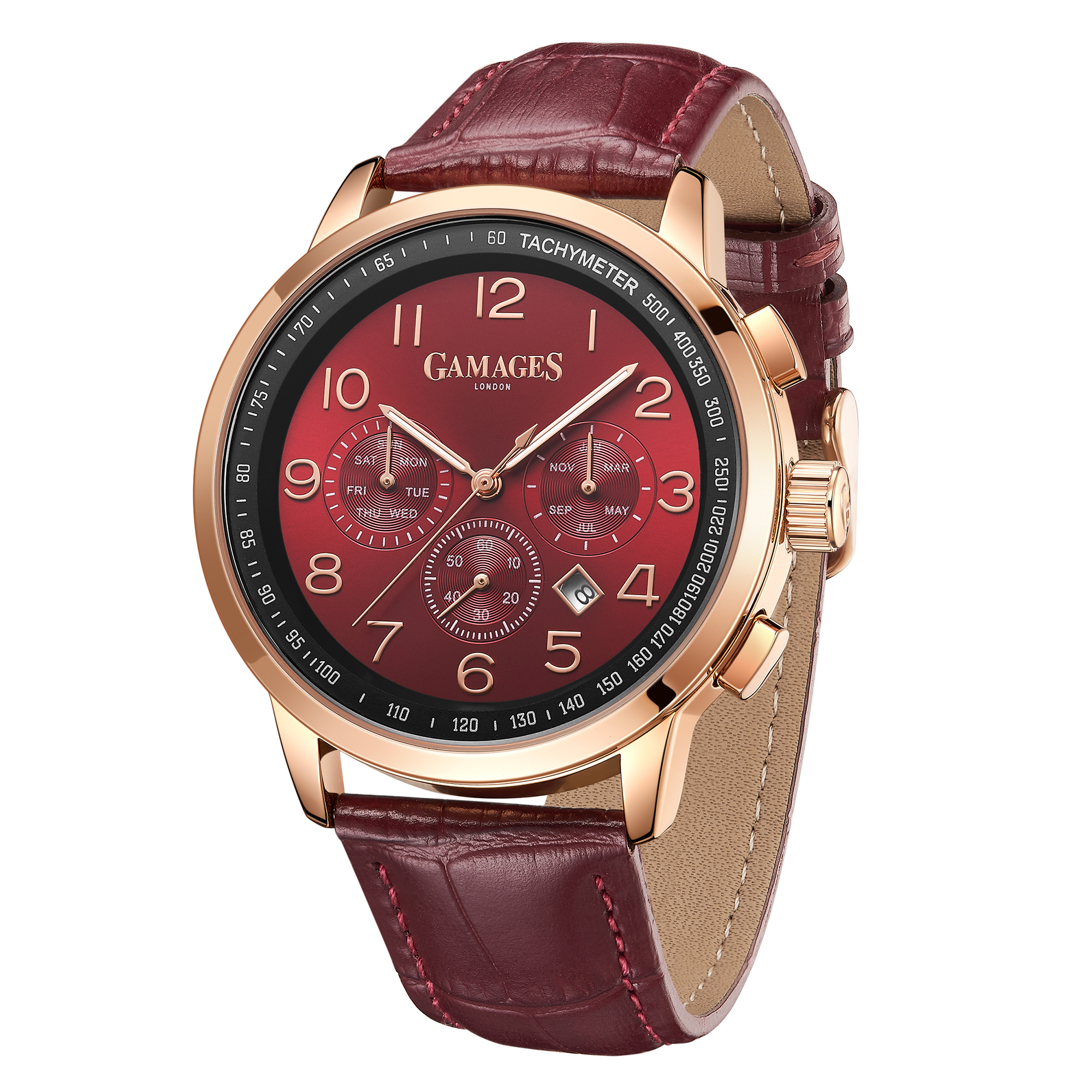 Ltd Edition Hand Assembled Gamages Classique Automatic Red – 5 Year Warranty & Free Delivery - Image 4 of 4