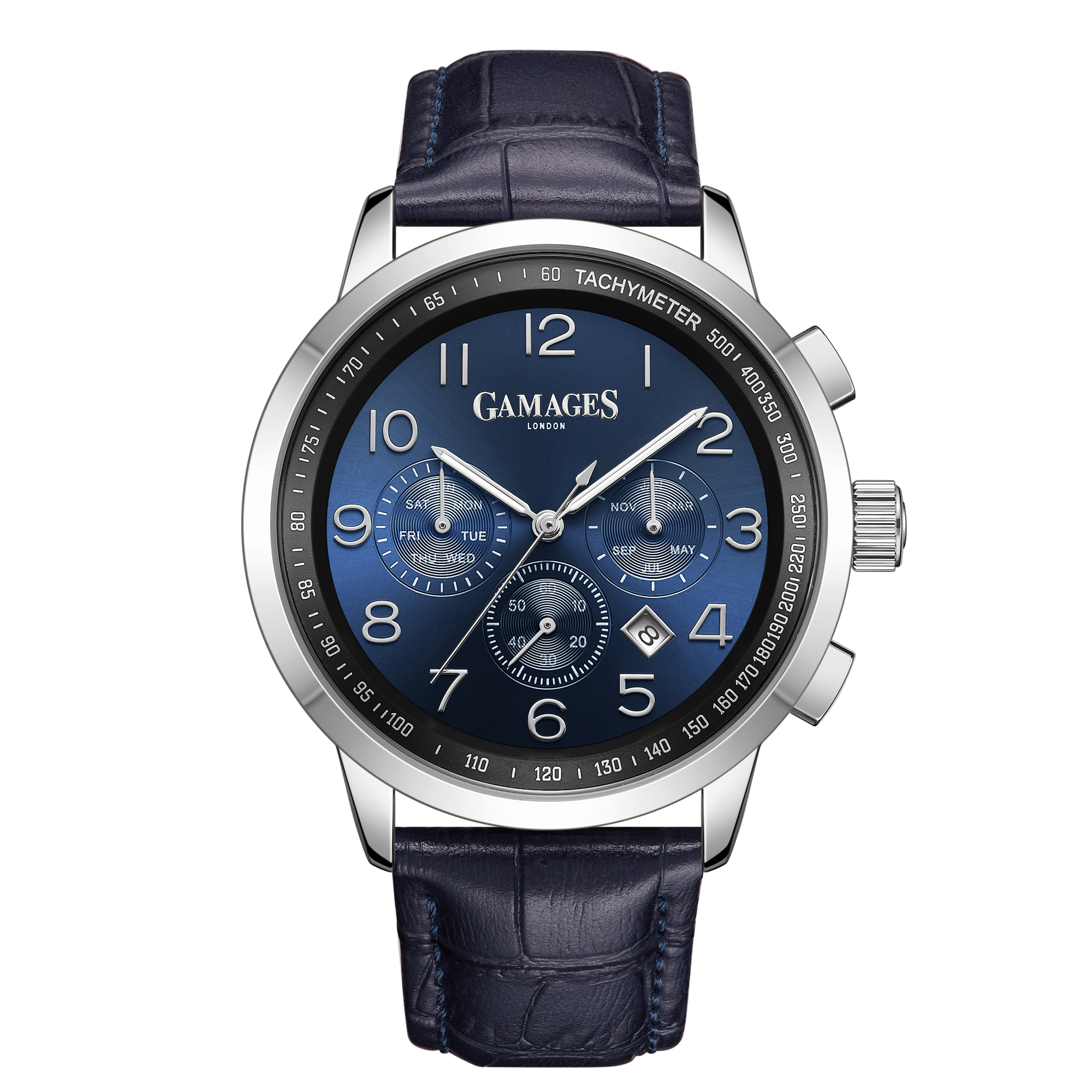 Ltd Edition Hand Assembled Gamages Classique Automatic Midnight Blue – 5 Yr Warranty & Free Delivery