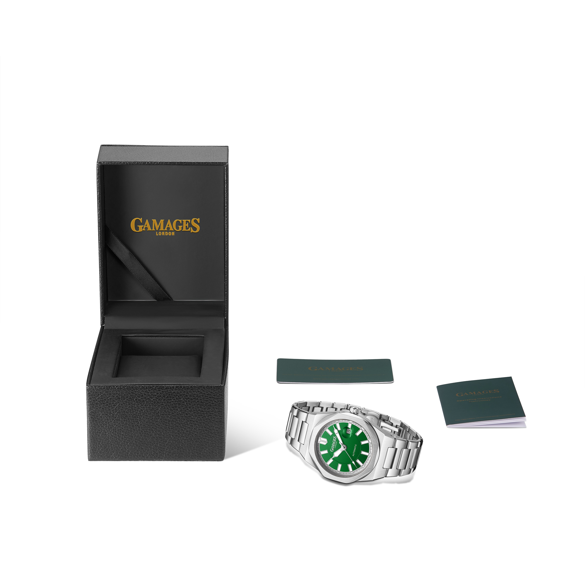 Ltd Edition Hand Assembled Gamages Quintessential Automatic Green – 5 Year Warranty & Free Delivery - Image 2 of 5