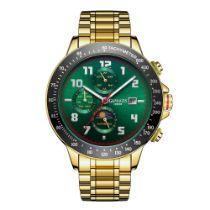 Ltd Edition Hand Assembled Gamages Alpha Automatic Green – 5 Year Warranty & Free Delivery