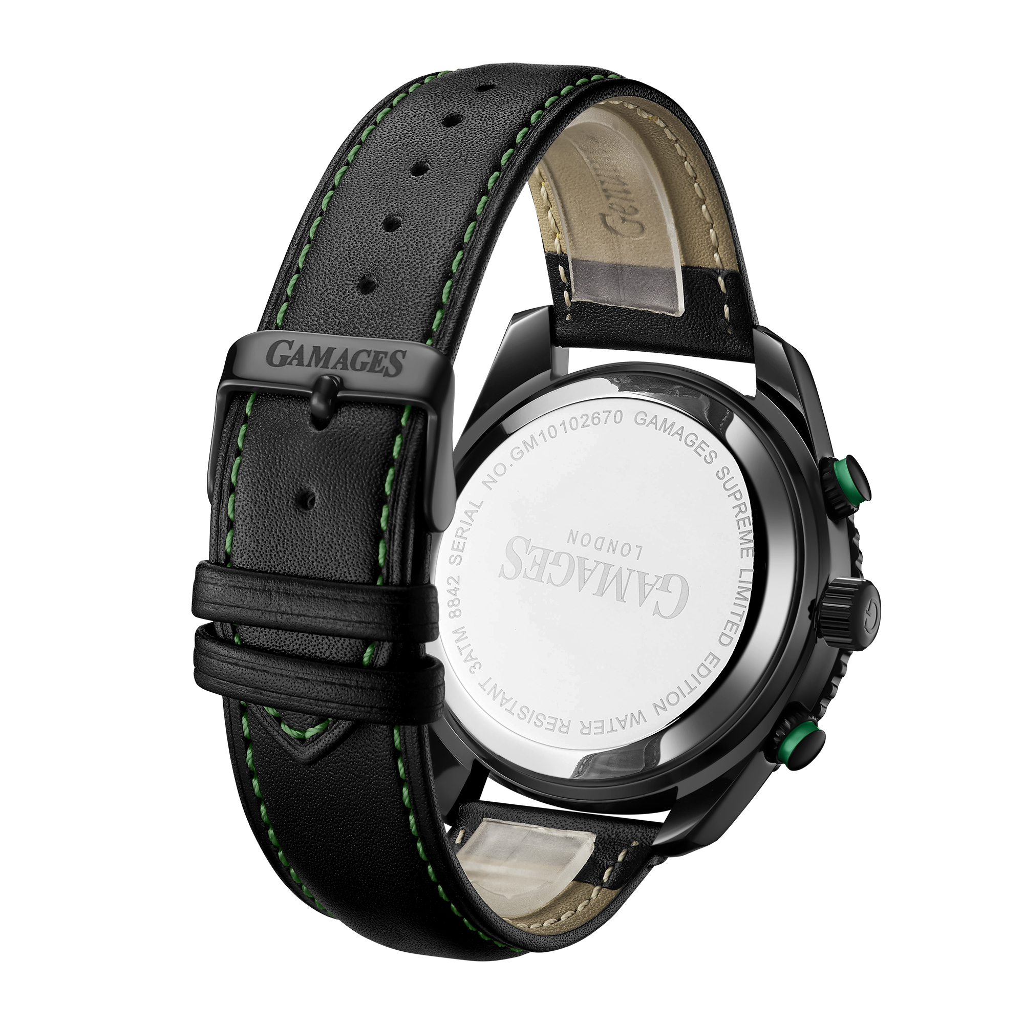 Limited Edition Hand Assembled Gamages Supreme Automatic Green – 5 Year Warranty & Free Delivery - Image 3 of 6