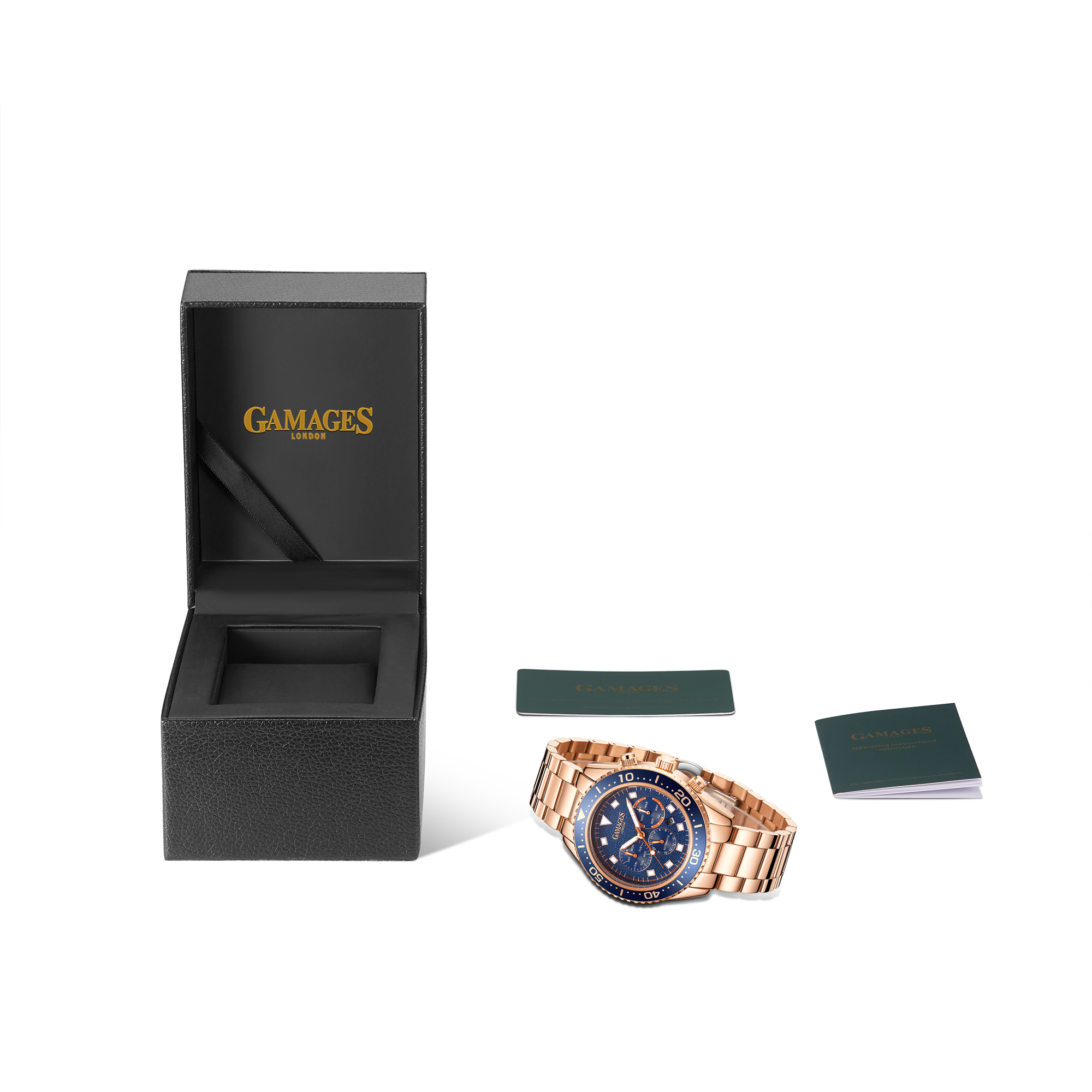 Limited Edition Hand Assembled Gamages Allure Automatic Rose – 5 Year Warranty & Free Delivery - Image 2 of 5