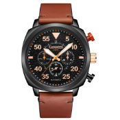 Ltd Edition Hand Assembled Gamages Aviation Automatic Black – 5 Year Warranty & Free Delivery