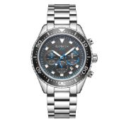 Limited Edition Hand Assembled Gamages Allure Automatic Steel – 5 Year Warranty & Free Delivery