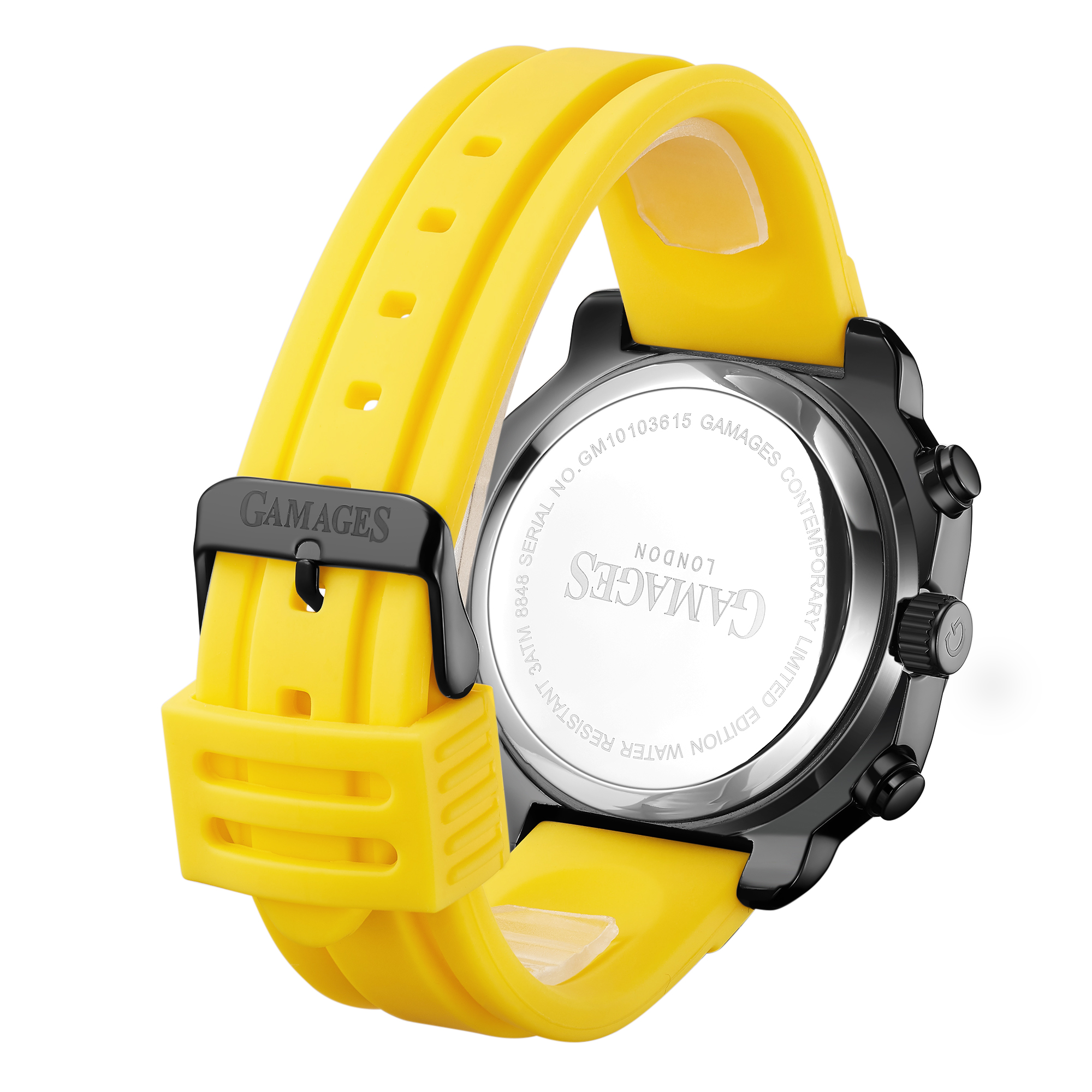 Ltd Edition Hand Assembled Gamages Contemporary Automatic Yellow – 5 Year Warranty & Free Delivery - Image 3 of 5