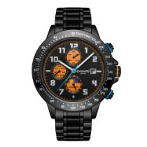 Ltd Edition Hand Assembled Gamages Alpha Automatic Black IP – 5 Year Warranty & Free Delivery