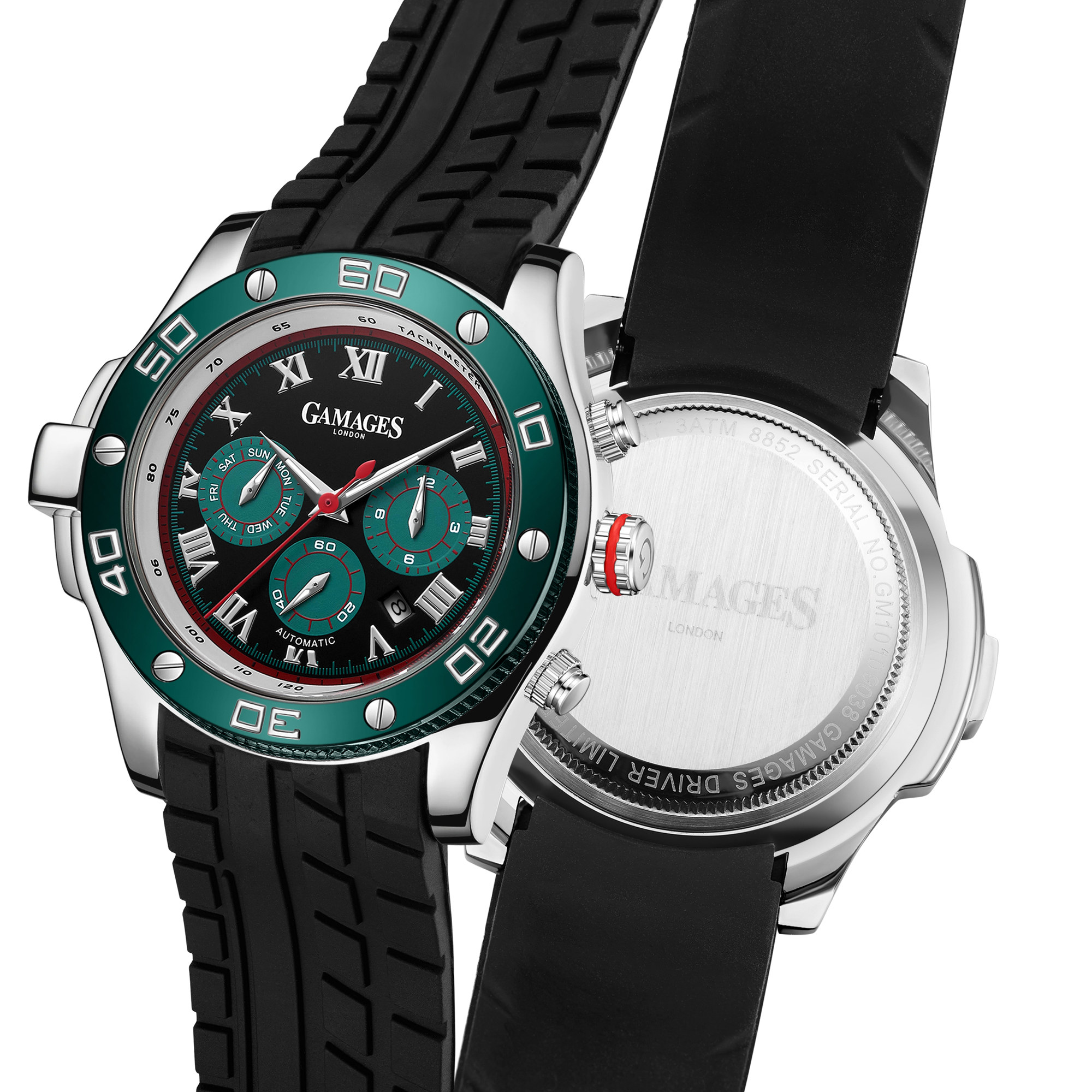 Ltd Edition Hand Assembled Gamages Driver Automatic Black – 5 Year Warranty & Free Delivery - Image 5 of 5
