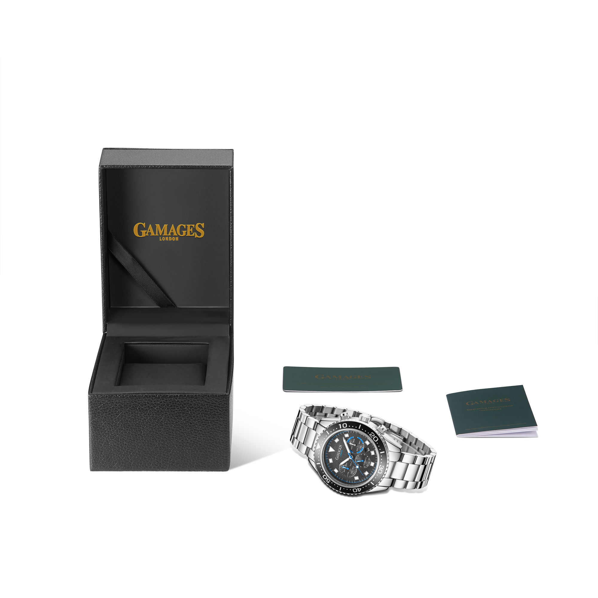 Limited Edition Hand Assembled Gamages Allure Automatic Steel – 5 Year Warranty & Free Delivery - Image 2 of 4
