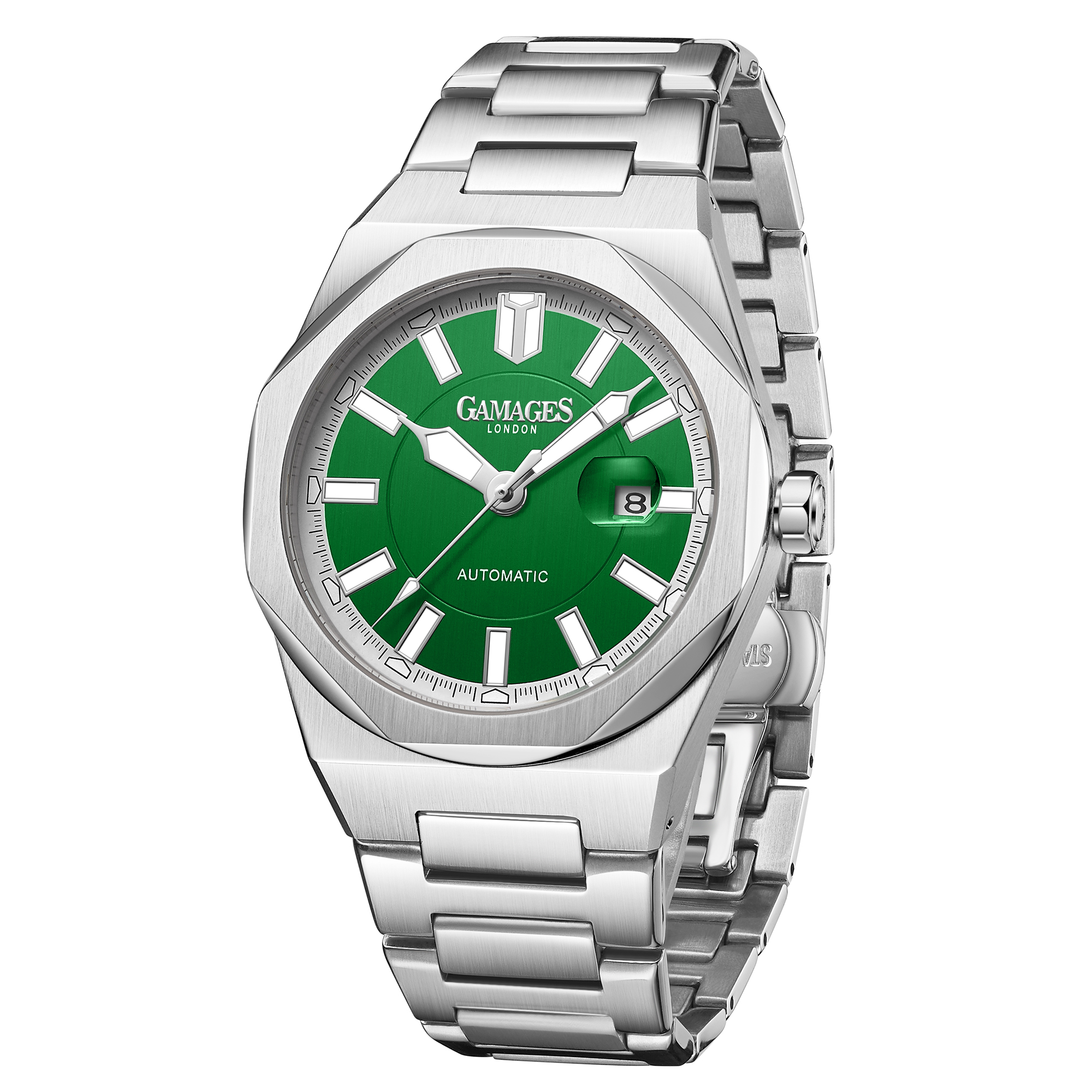Ltd Edition Hand Assembled Gamages Quintessential Automatic Green – 5 Year Warranty & Free Delivery - Image 4 of 5