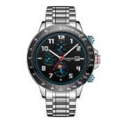 Ltd Edition Hand Assembled Gamages Alpha Automatic Brushed Black – 5 Year Warranty & Free Delivery