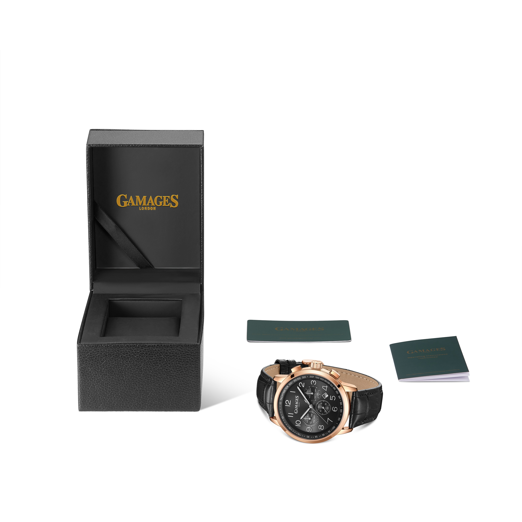 Ltd Edition Hand Assembled Gamages Classique Automatic Black – 5 Year Warranty & Free Delivery - Image 2 of 4