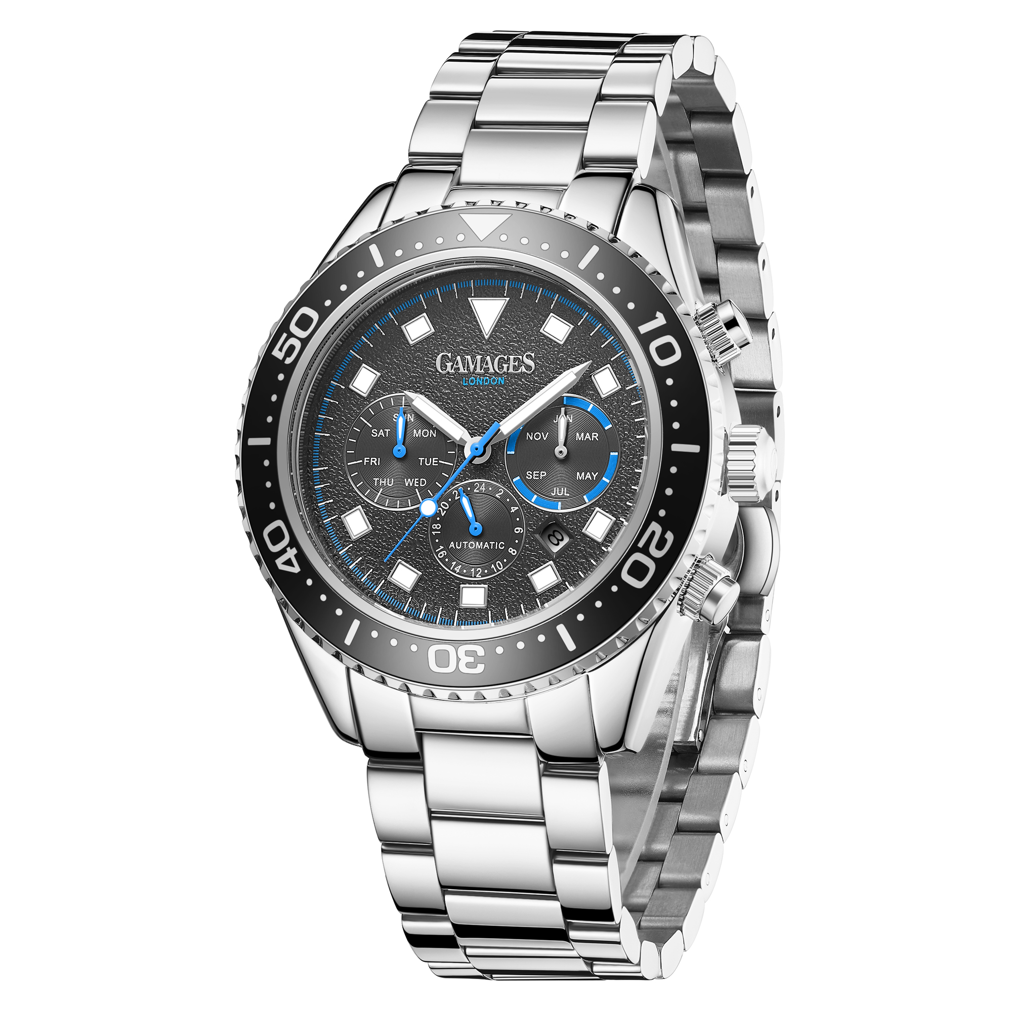 Limited Edition Hand Assembled Gamages Allure Automatic Steel – 5 Year Warranty & Free Delivery - Image 4 of 4