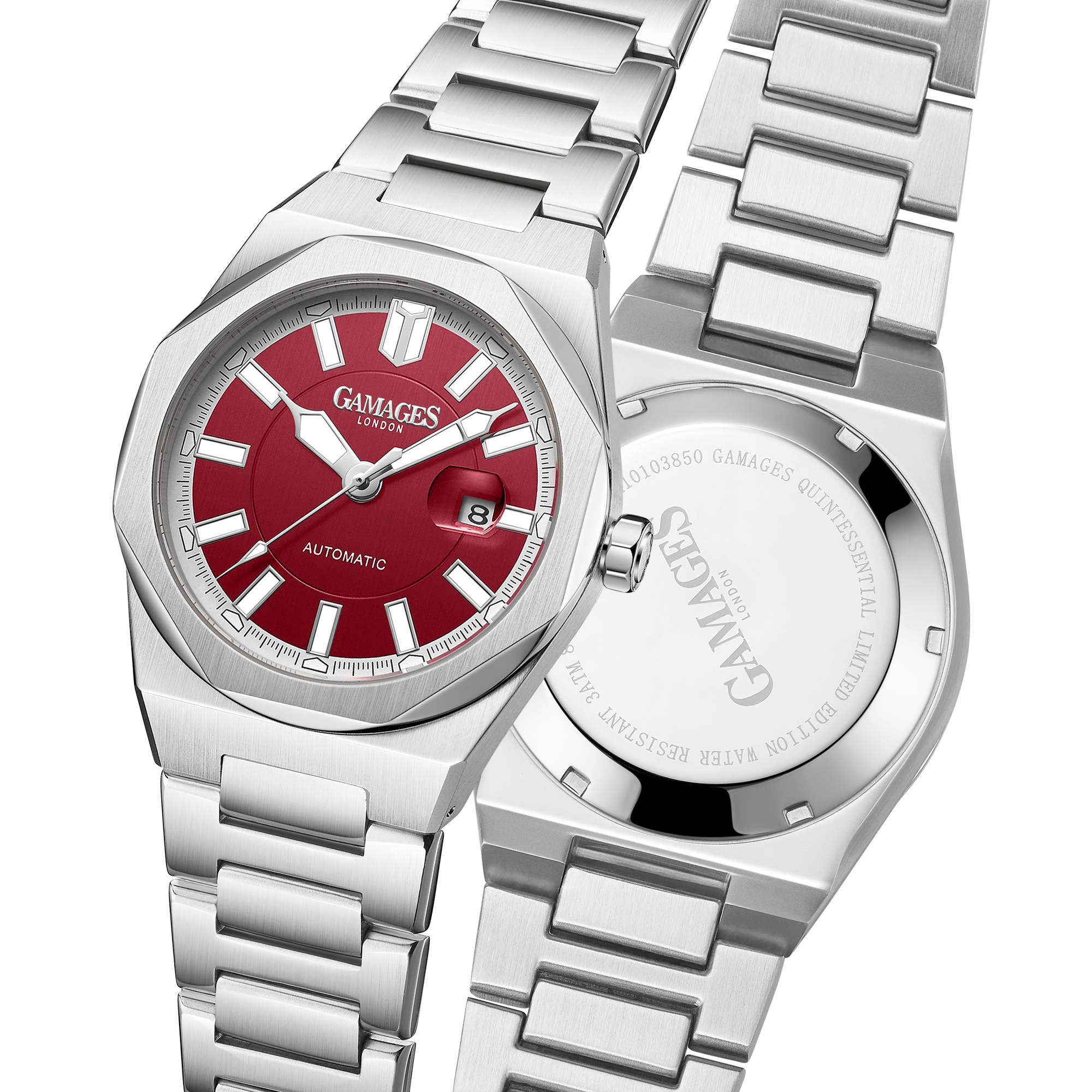 Ltd Edition Hand Assembled Gamages Quintessential Automatic Red – 5 Year Warranty & Free Delivery - Image 4 of 5