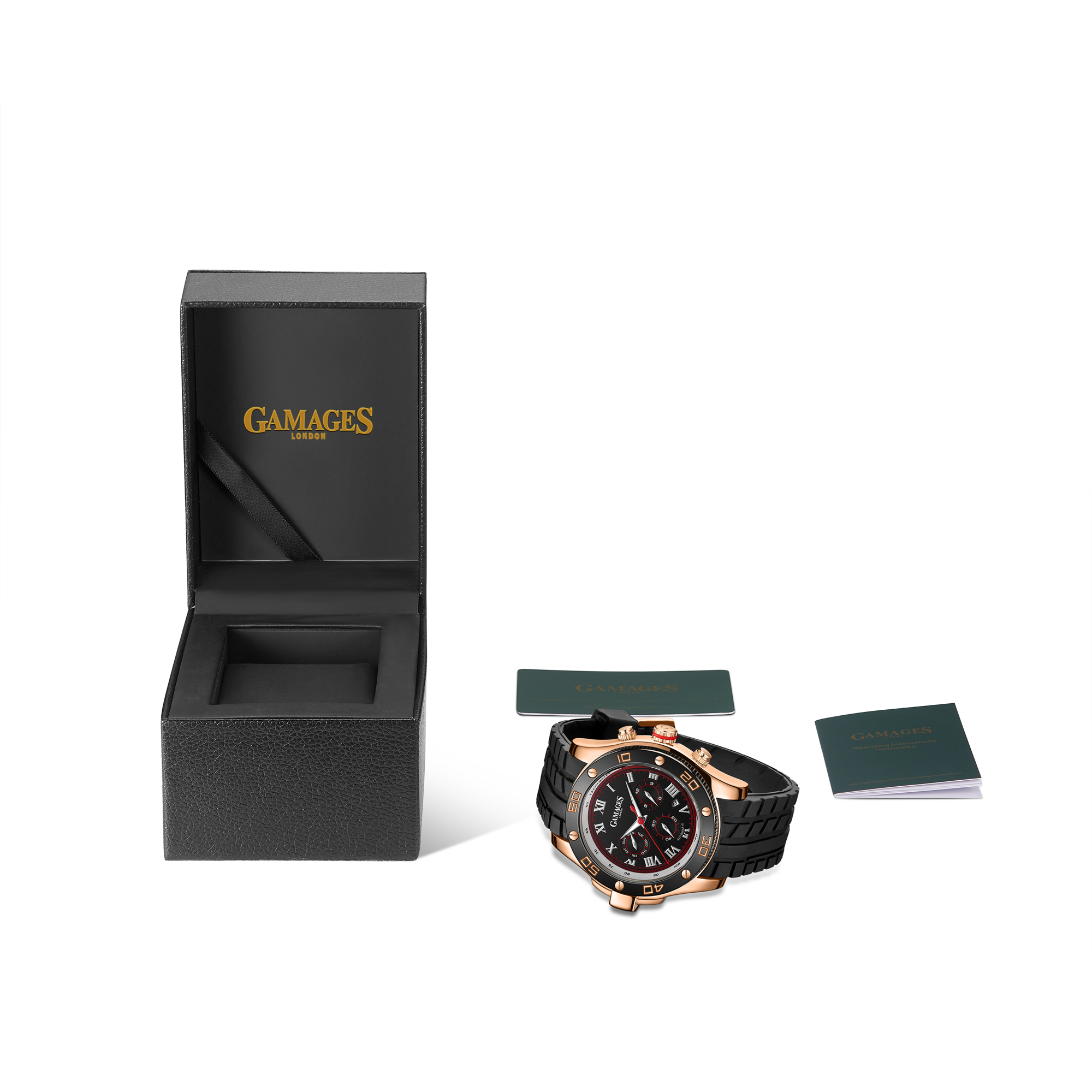 LLtd Edition Hand Assembled Gamages Driver Automatic Rose Gold – 5 Year Warranty & Free Delivery - Image 2 of 5