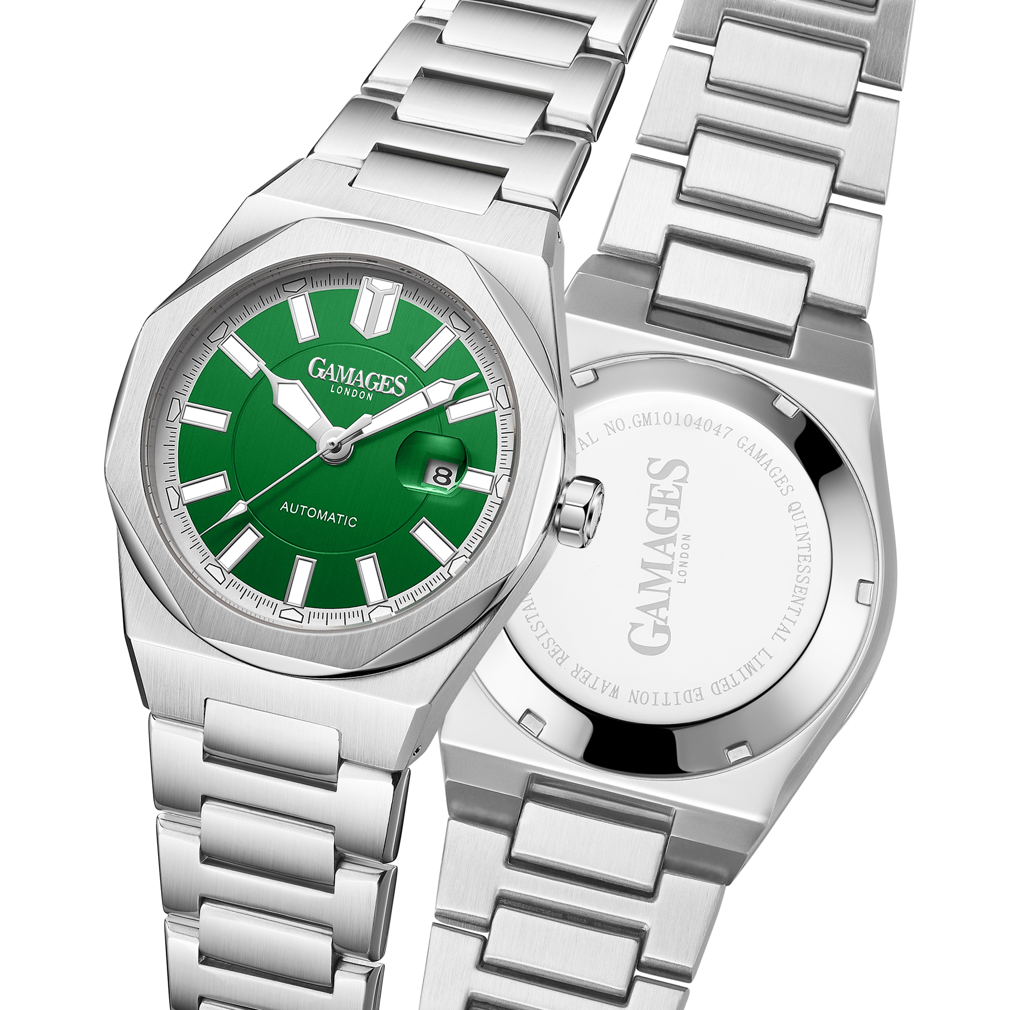 Ltd Edition Hand Assembled Gamages Quintessential Automatic Green – 5 Year Warranty & Free Delivery - Image 5 of 5