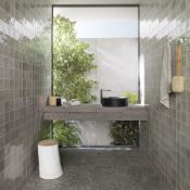 New 11.4M2 Procelanosa Ronda Grey Feature Tiles.20x31.6cm Per Tile. 1.14M2 Per Pack.Beyond Its...