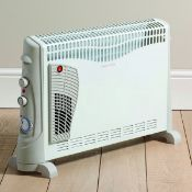 New (S205) Electric 2500W White Convector Heater. His Portable Electric Convector Heater With T...